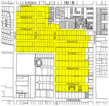 Medlock Place Historic District Map. Laura B. Historic Phoenix Homes Specialist. EEOC. Member NAR, PAR, AAR